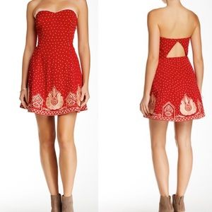 Free People Very Merry Night Out Dress Size 6
